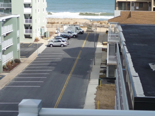 View of Ocean from Balcony