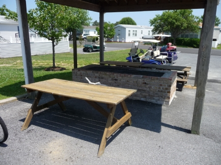 BBQ Pit at Club House