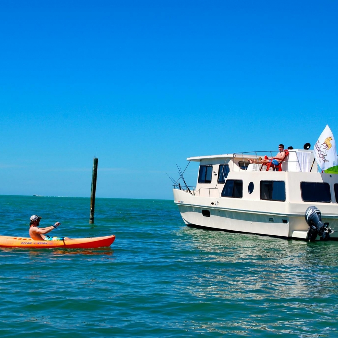 Quiet Cove Key: 2 Bedroom Vacation House Boat Rental ...