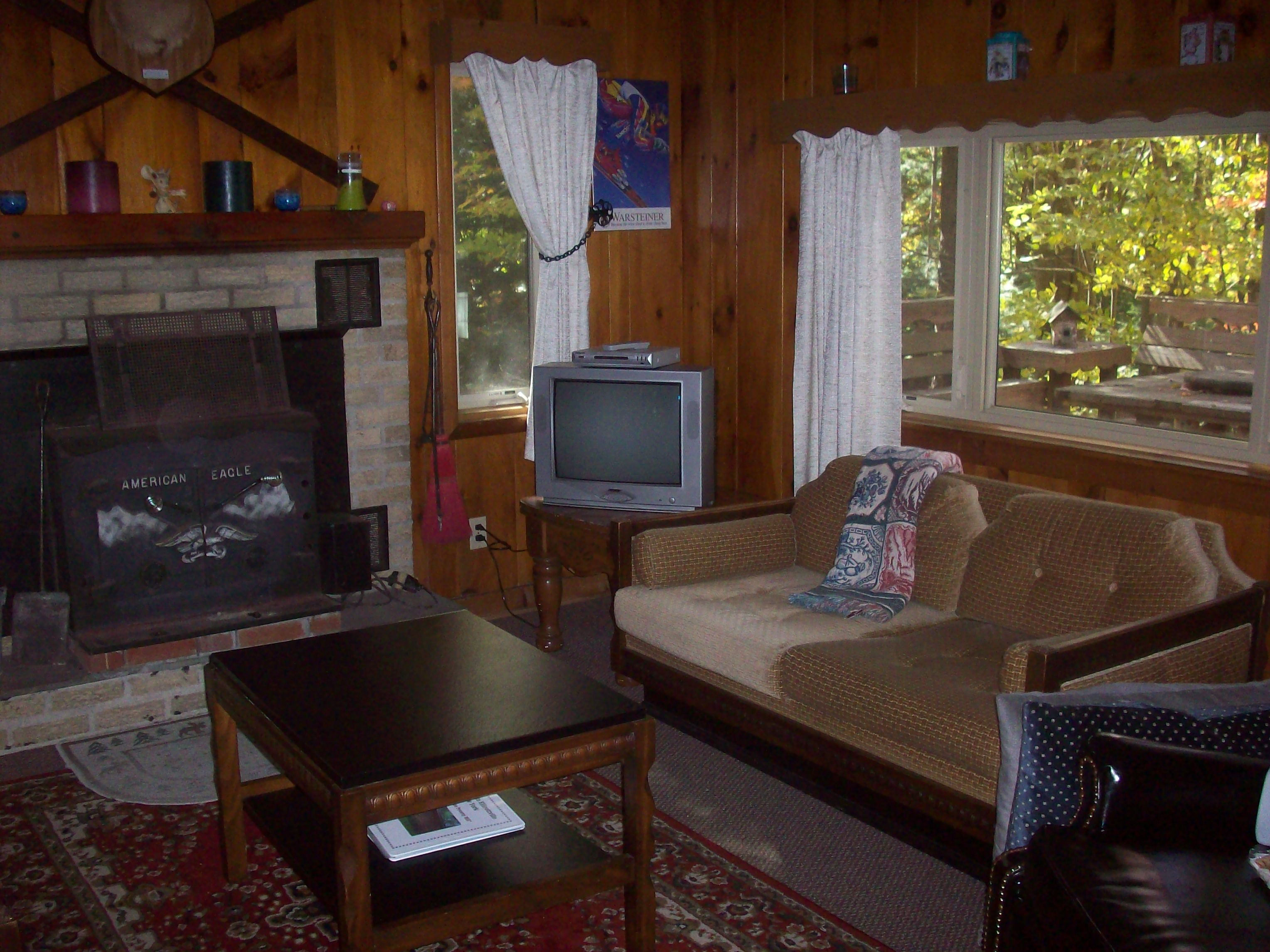 Family Room-view to deck
