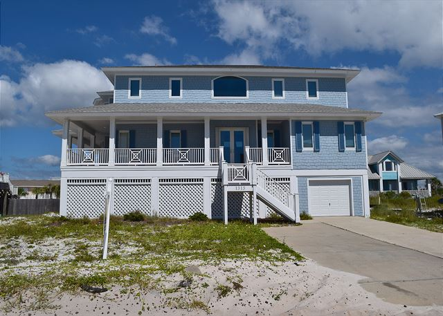 Beautiful home with gulf views and wrap around porch.