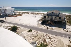Beach Directly Across From Dome Home