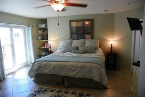Main Level Master Bedroom With Private Bath