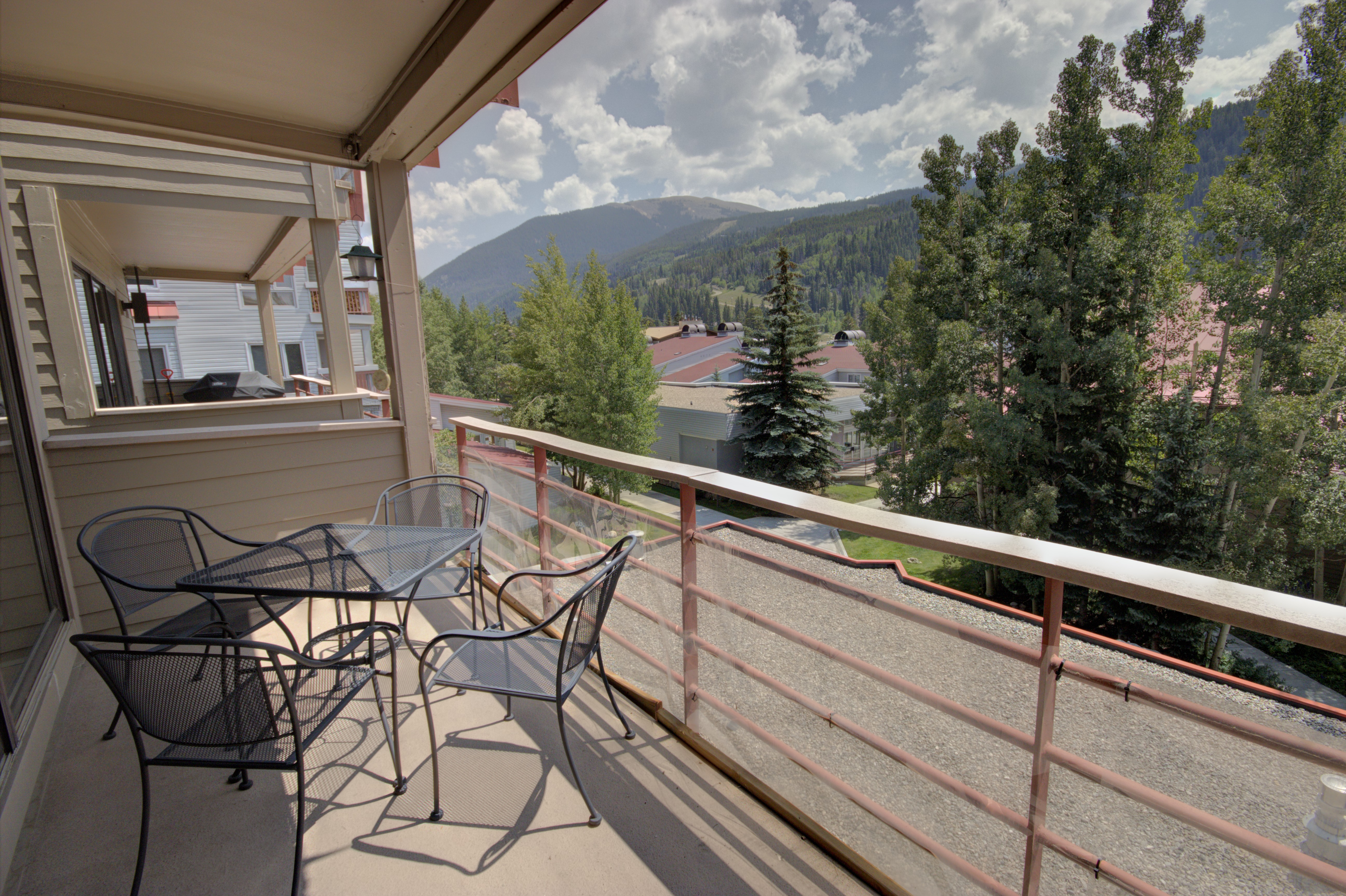Balcony with spectacular views