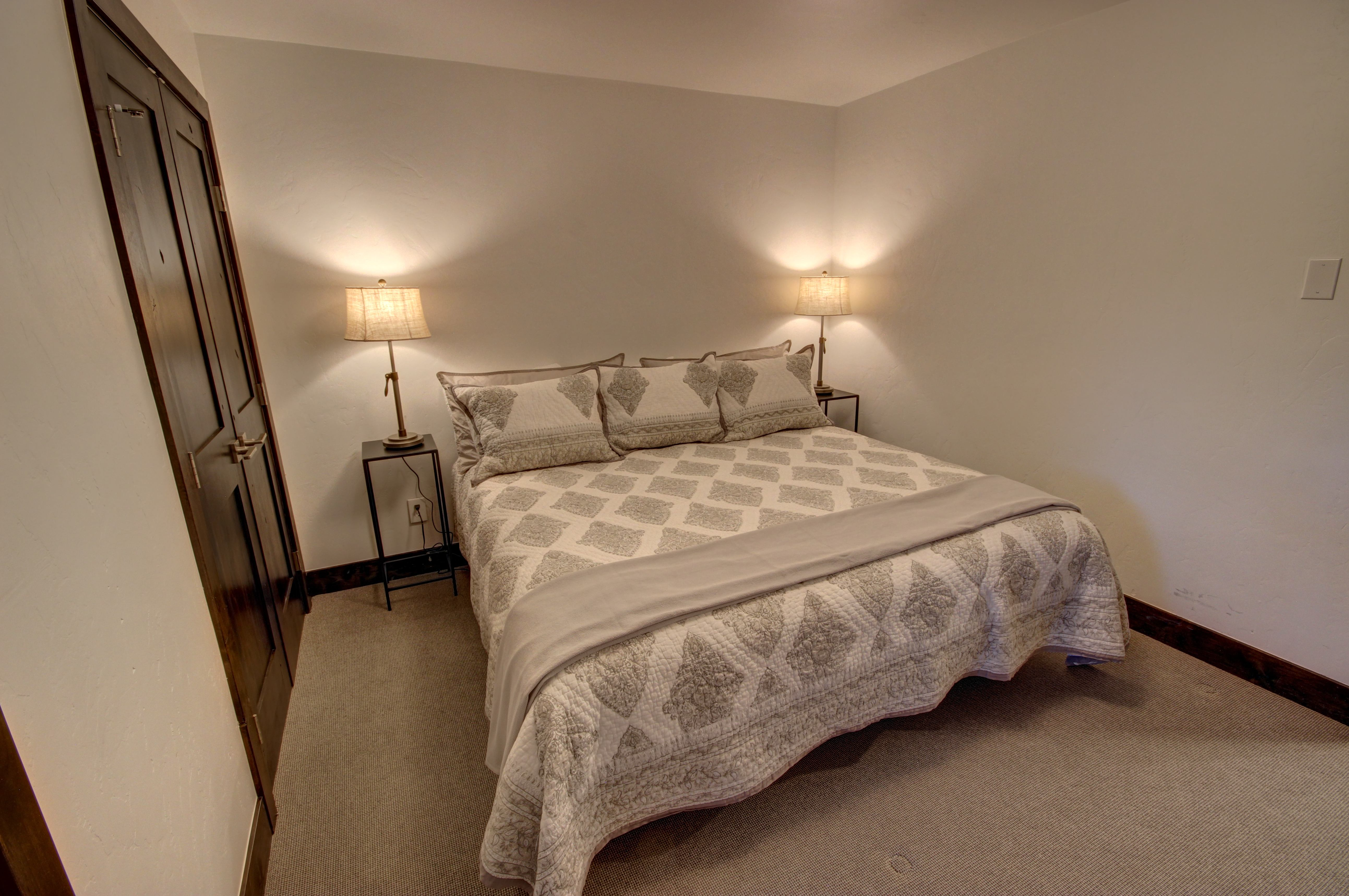Bedroom with comfortable and relaxing beds