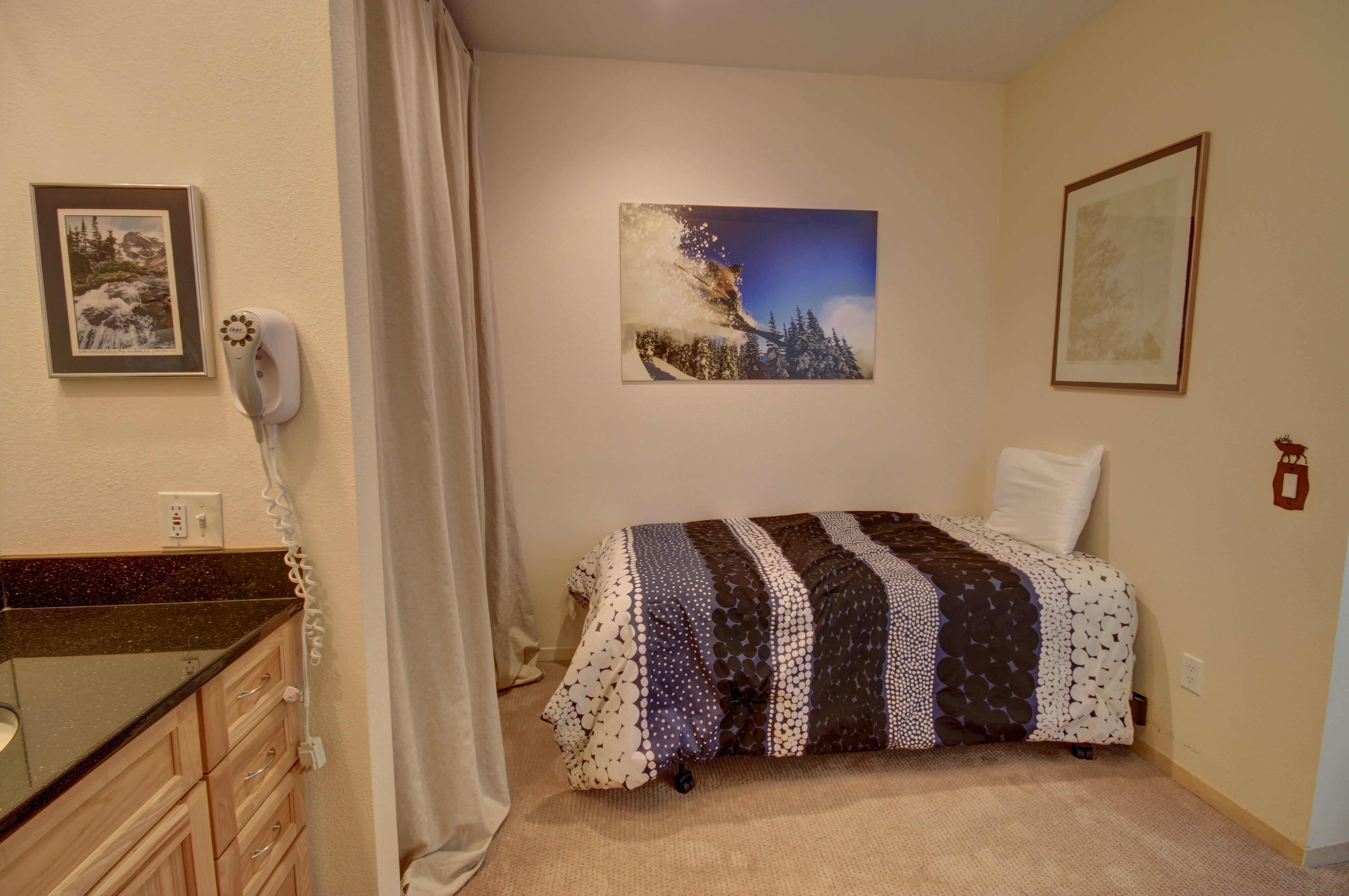 Comfortable beds to relax in and get a good sleep