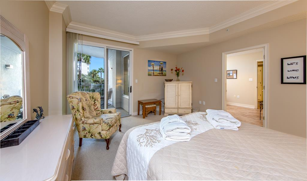 Master Bedroom and View from Bed