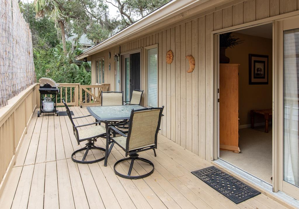 Deck off Master and Living Room
