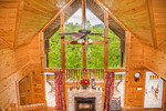Sky is the Limit Sevierville Tennessee Timber Tops Luxury Cabin Rentals
