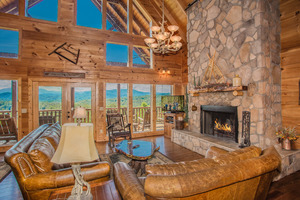 A View to Remember  Sevierville Tennessee Timber Tops Luxury Cabin Rentals