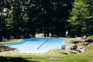TRAILSIDE SUMMER OUTSIDE POOL