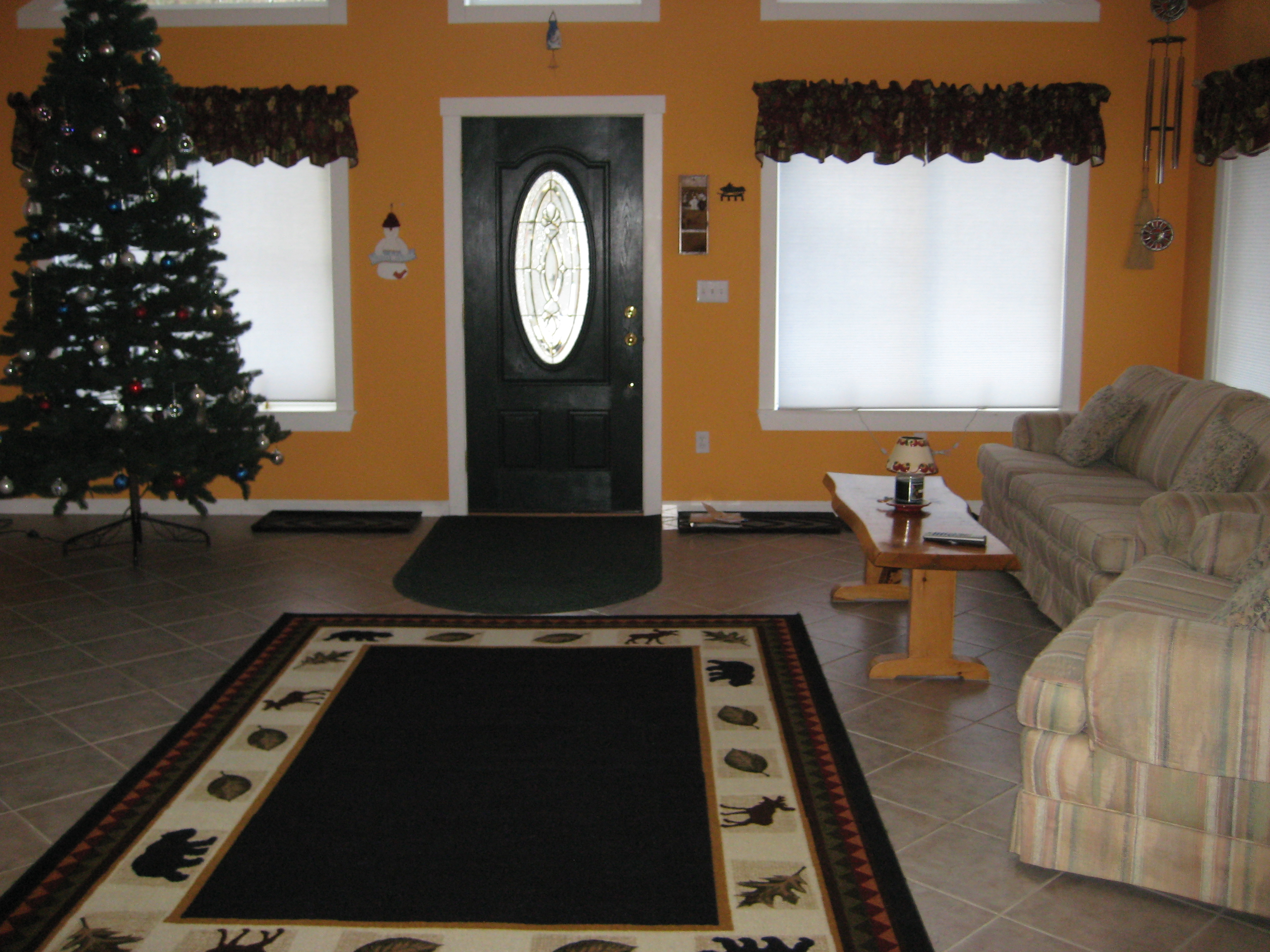 Entry Way Family Room
