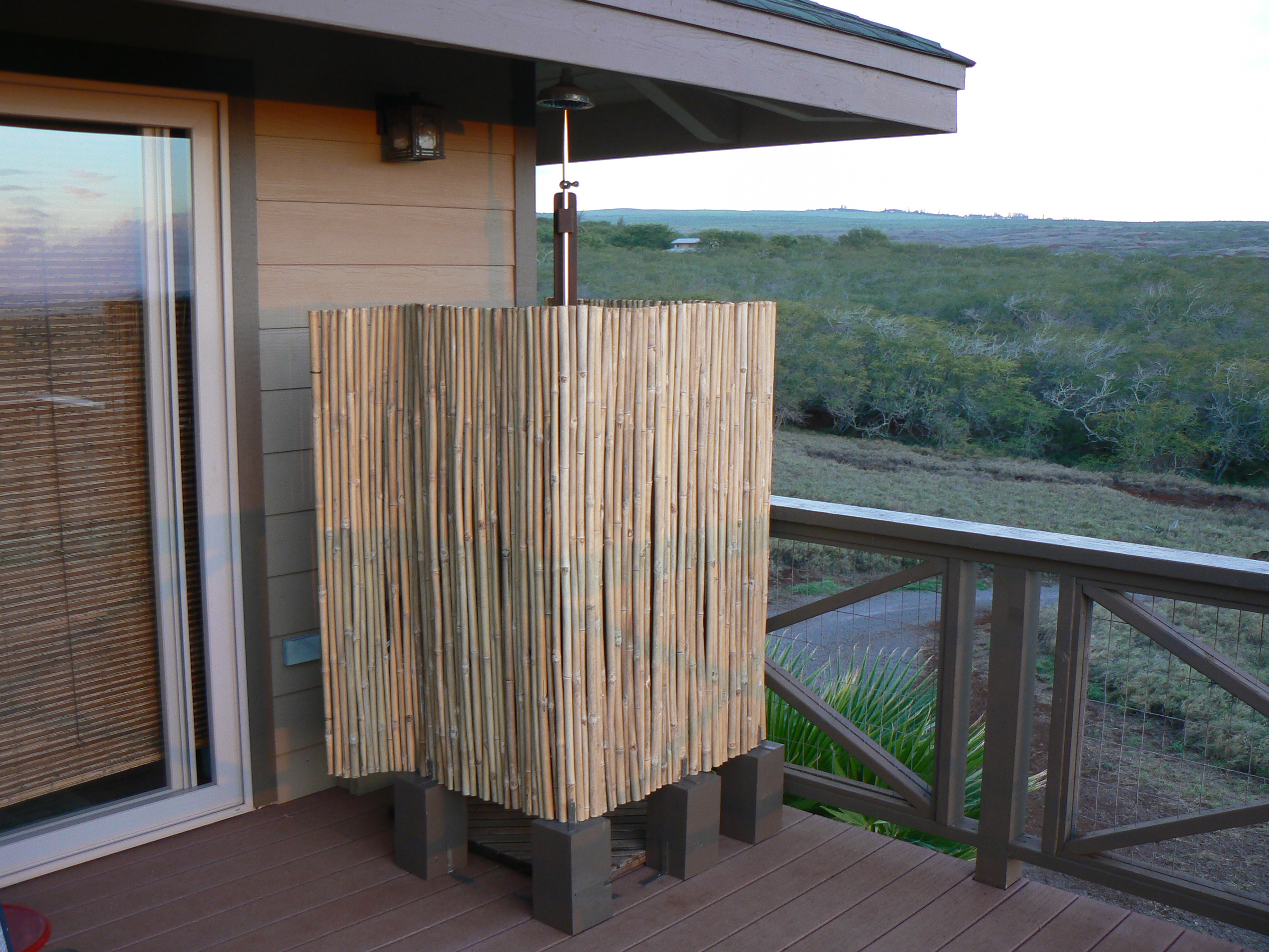 Outdoor Shower on the Lanai