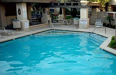 1 of 3 heated pools and spas