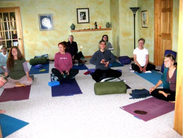 Yoga classes for our detox programs