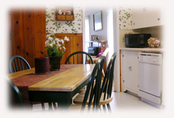A spacious kitchen which is fully equipped