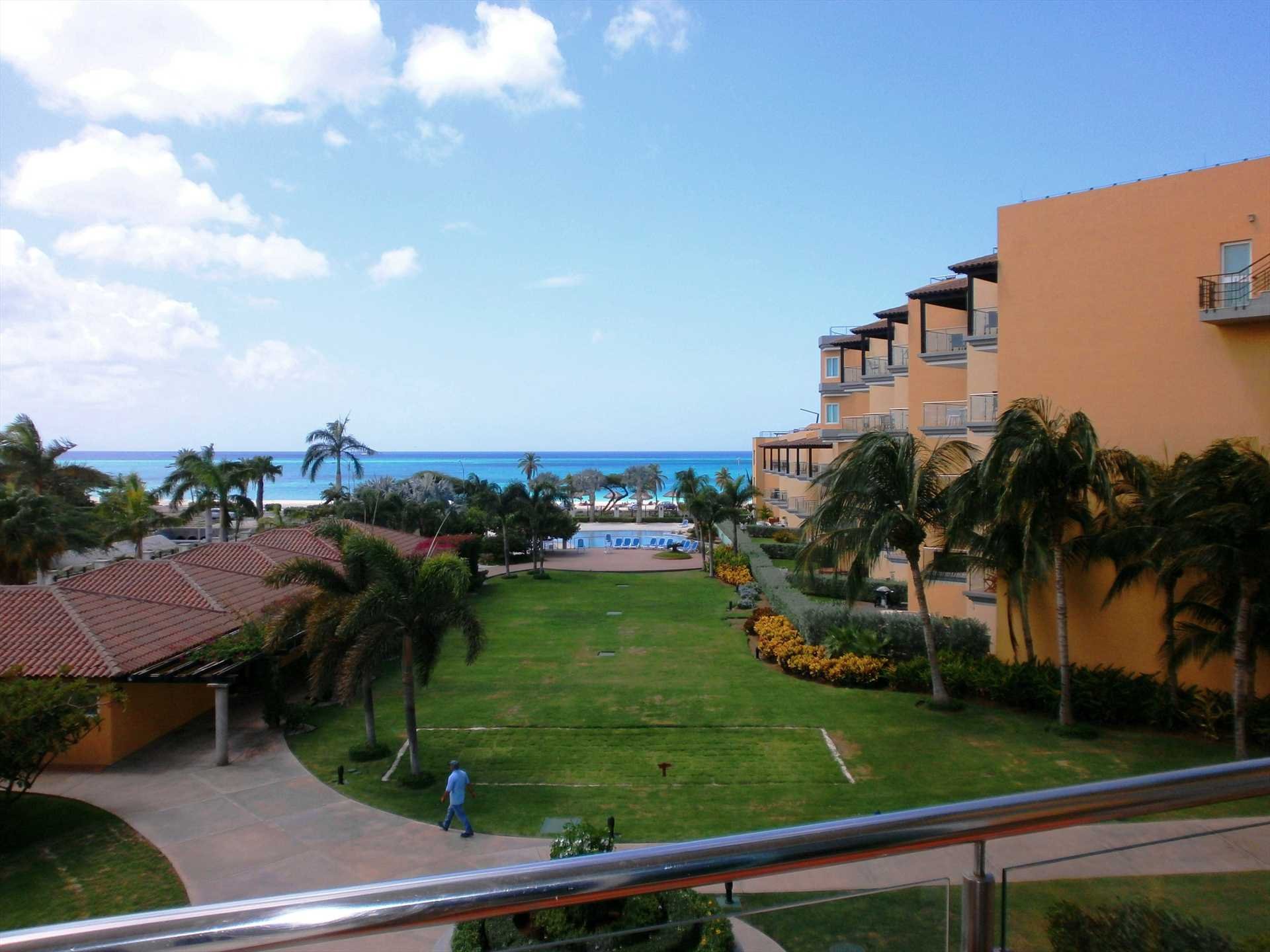 Ocean and pool view from you balcony!