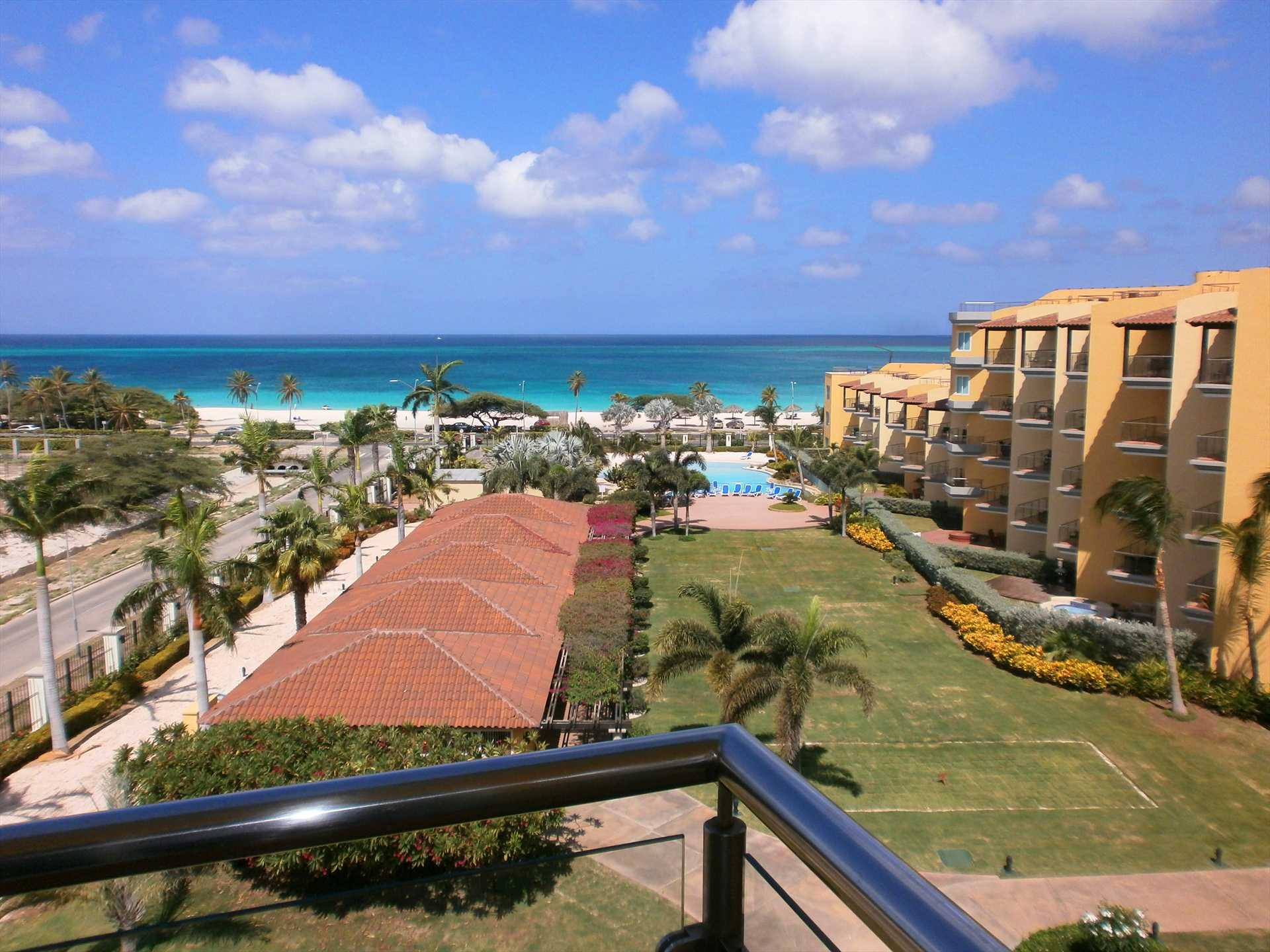 Your view of the pool and ocean from the balcony