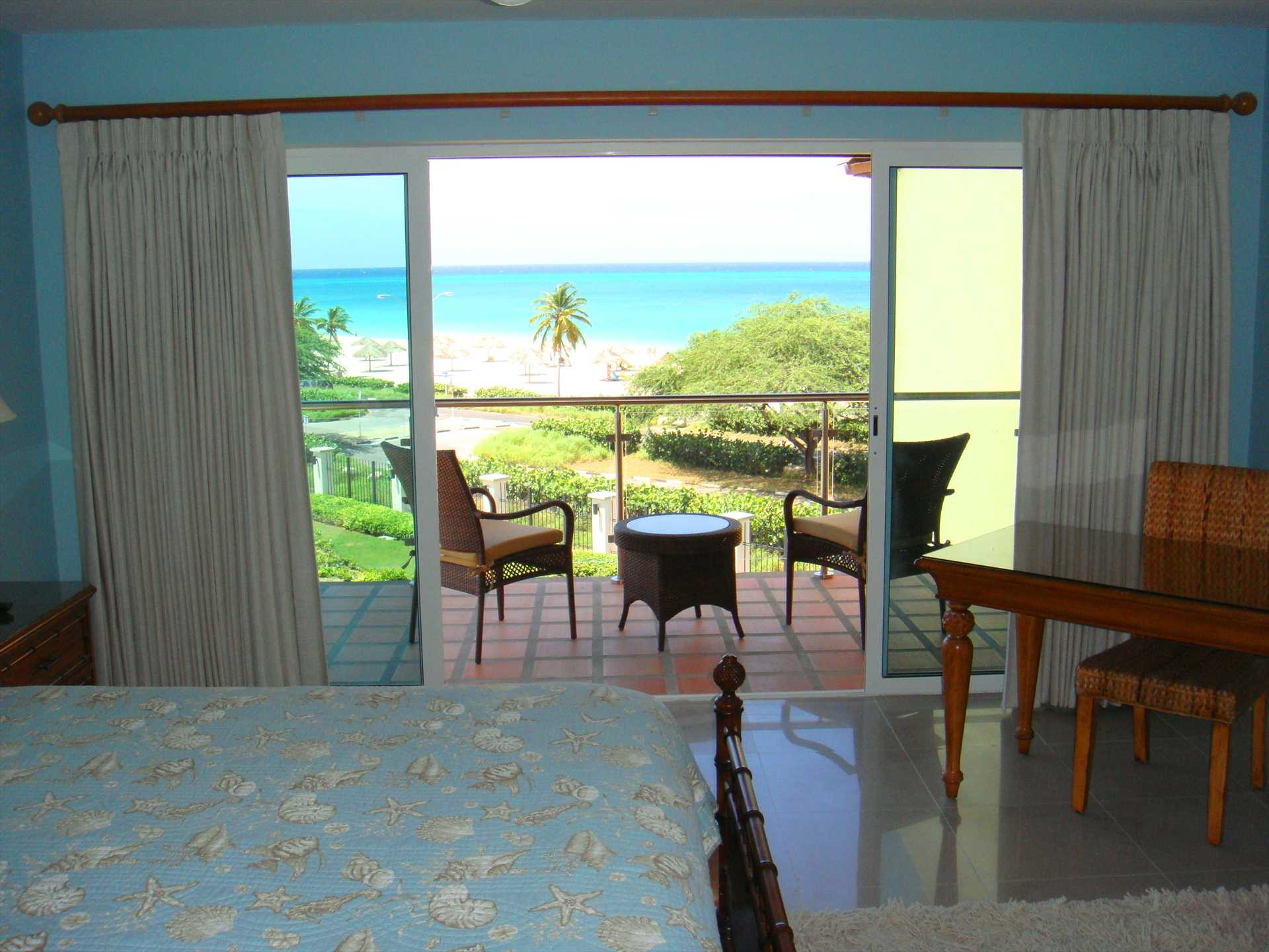 Wake up and savor the ocean view from your bed...