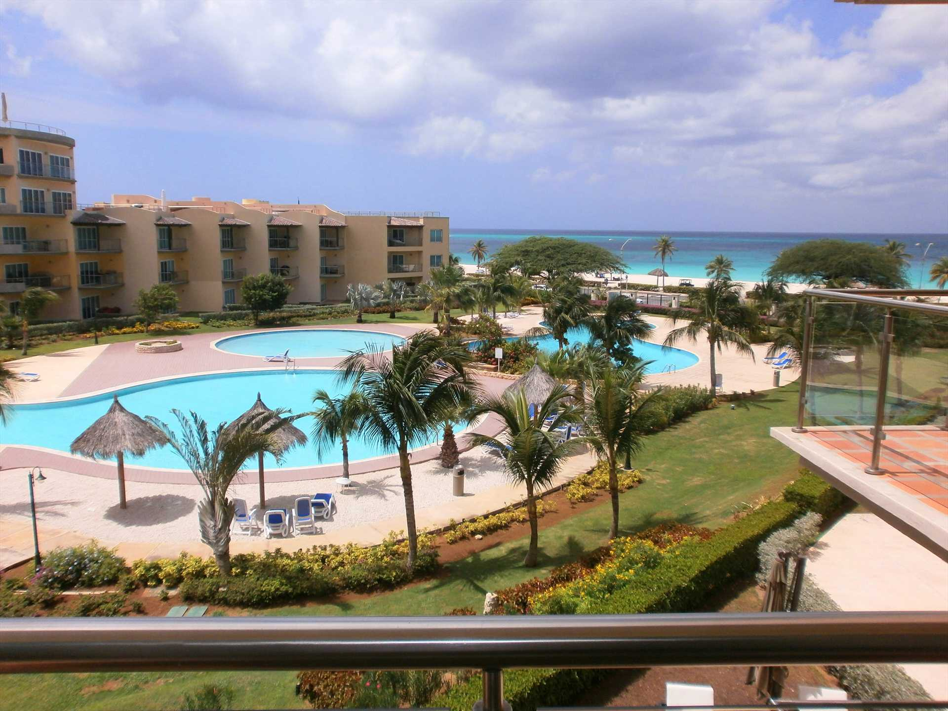 Your view on the master bedroom balcony