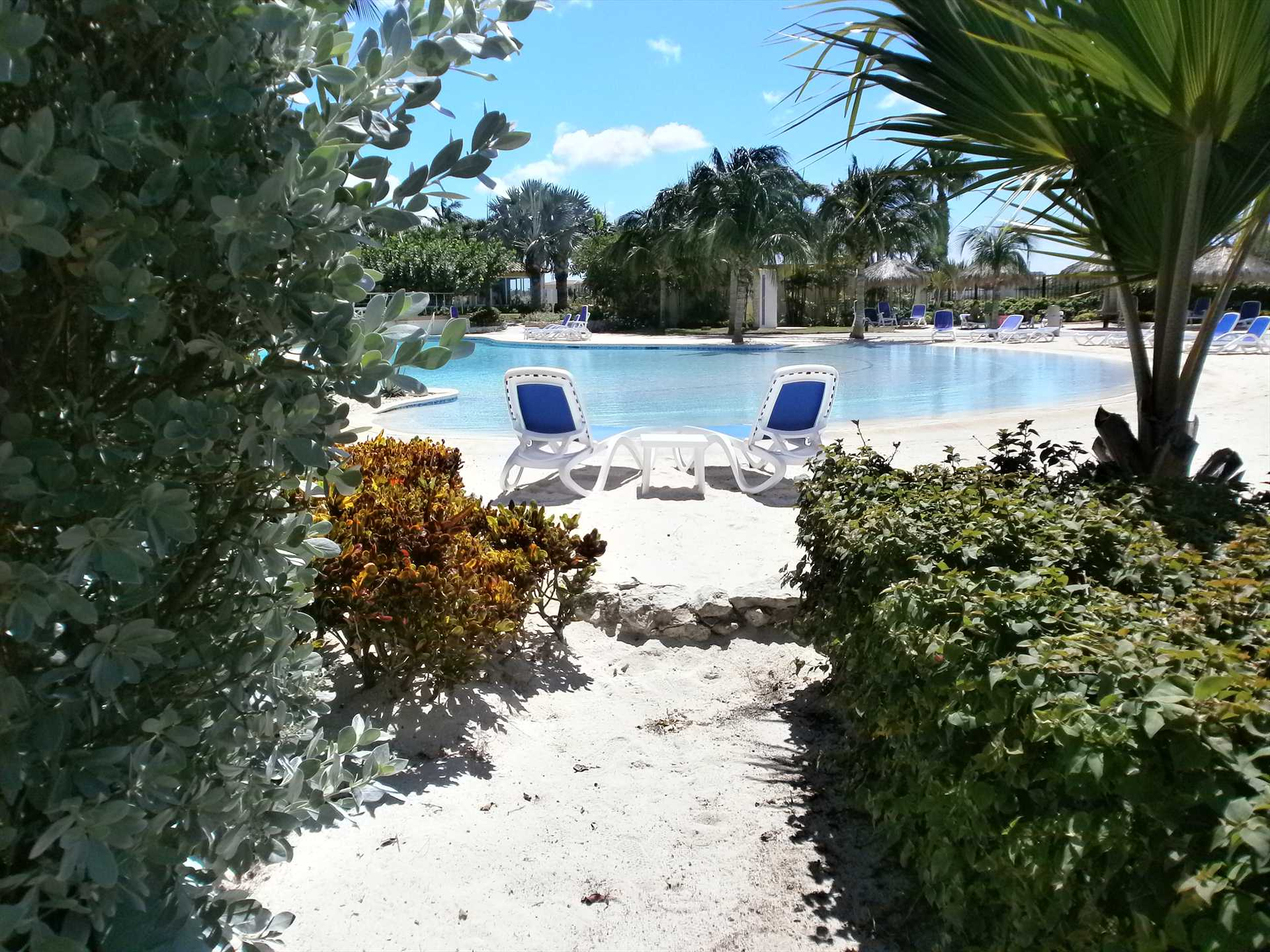 Private and easy access to the resort pool and beach gates!