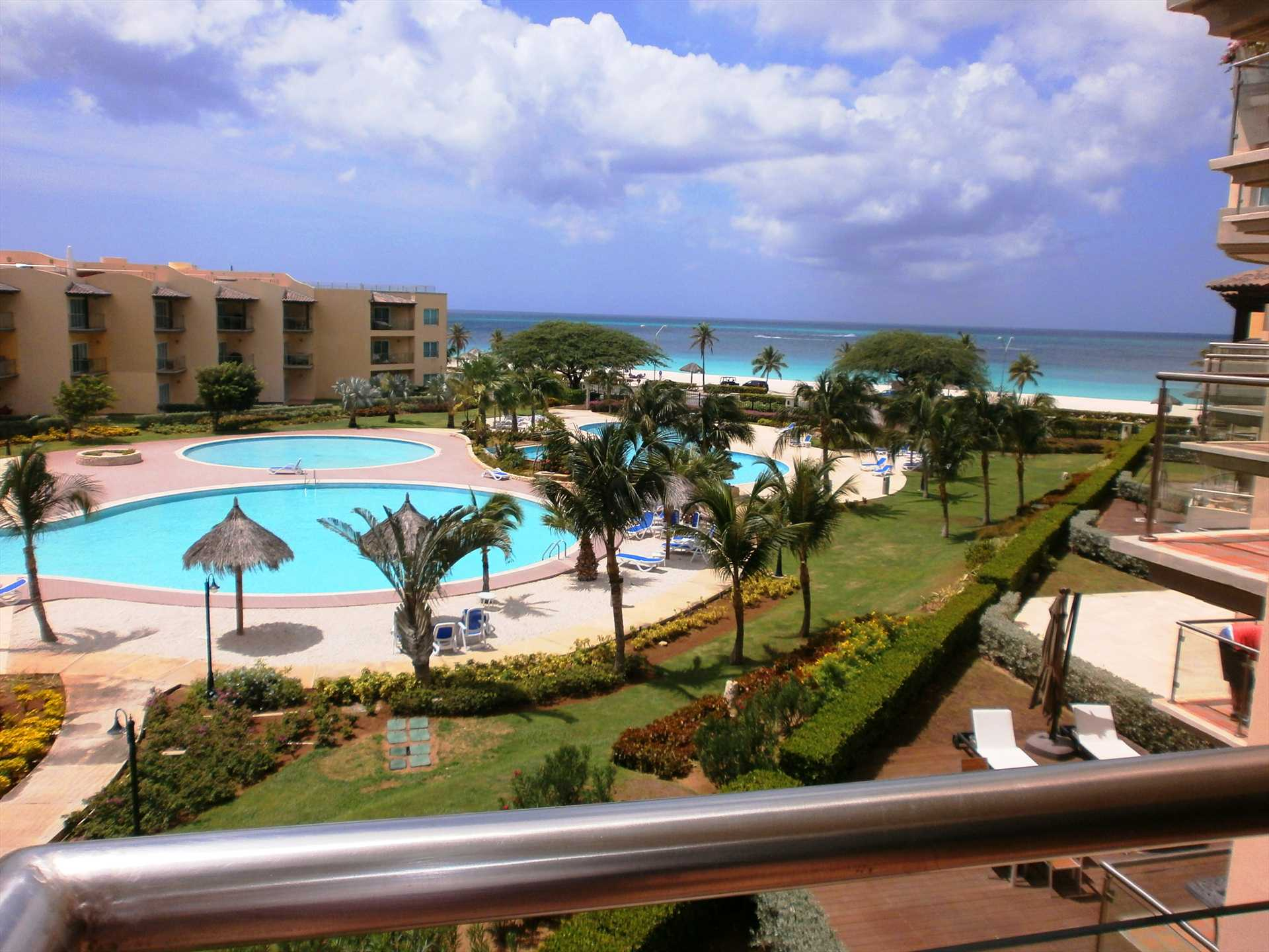 Your amazing view from the master bedroom balcony