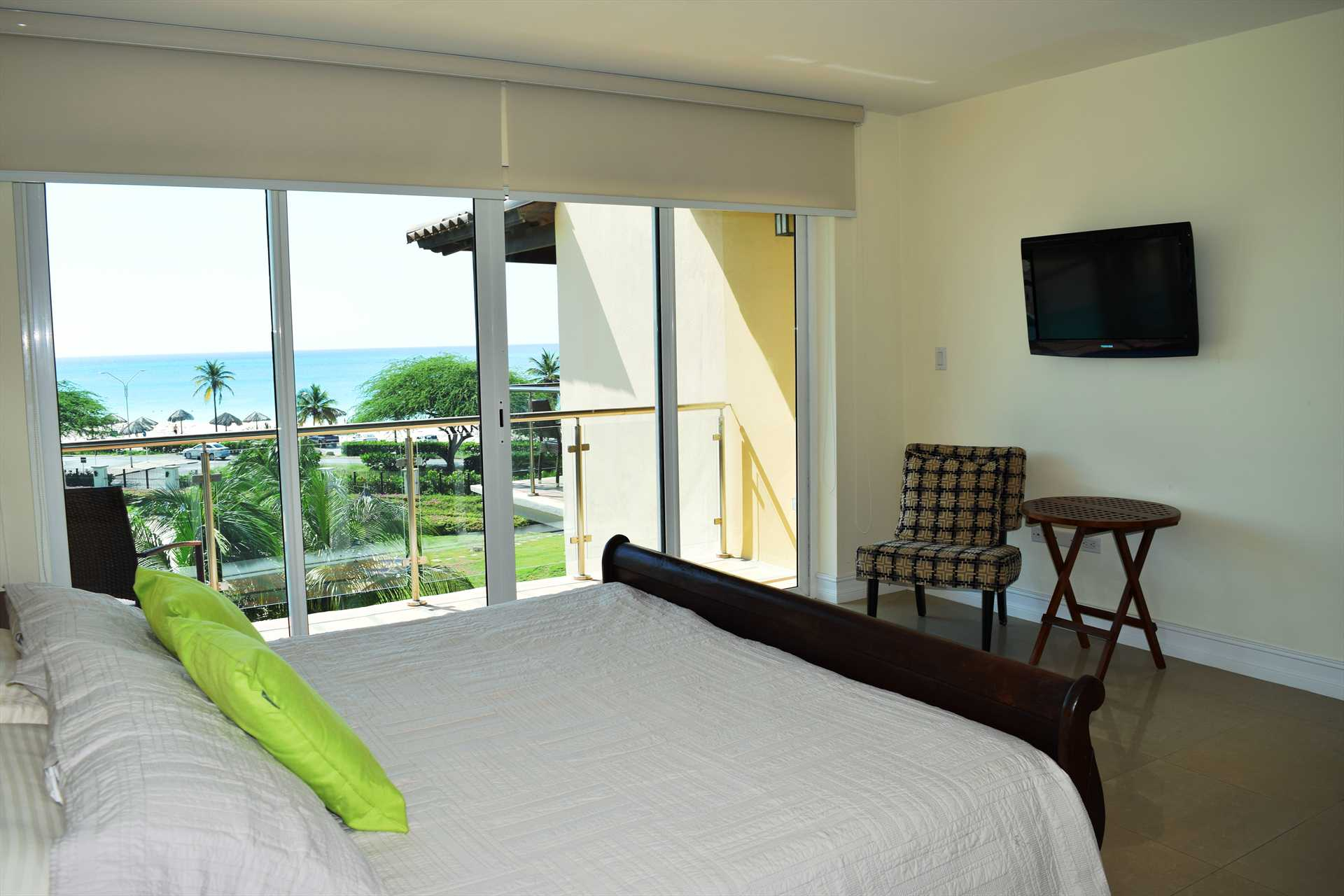 Wake up in the morning and savor the ocean view from your bed!