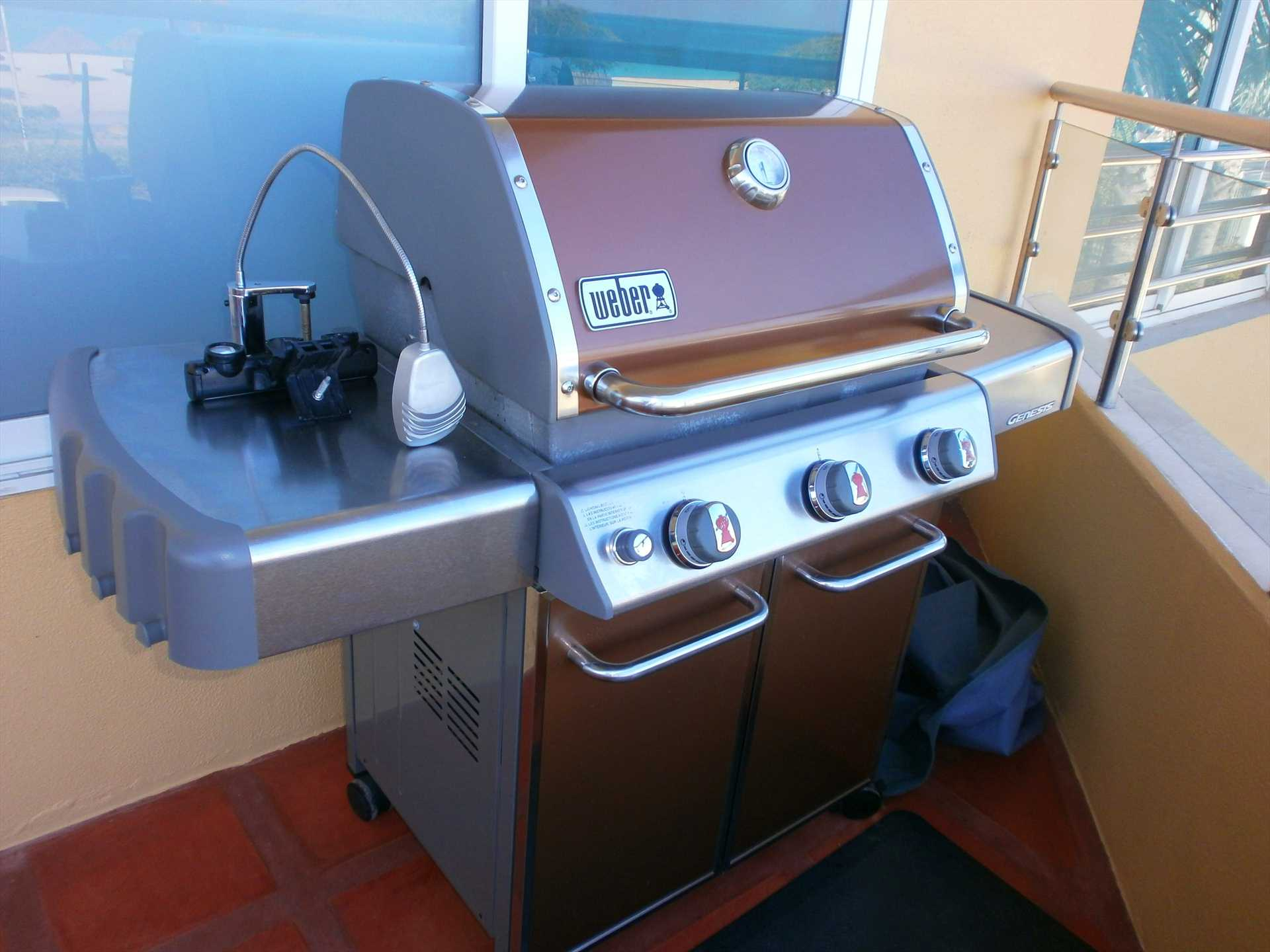 Large BBQ-grill!
