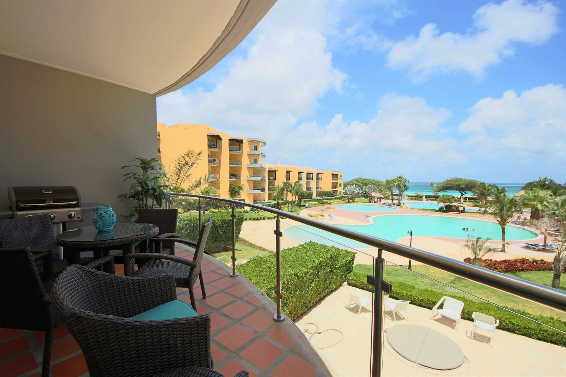 Welcome to your Summer View Two-bedroom condo at Oceania Resort
