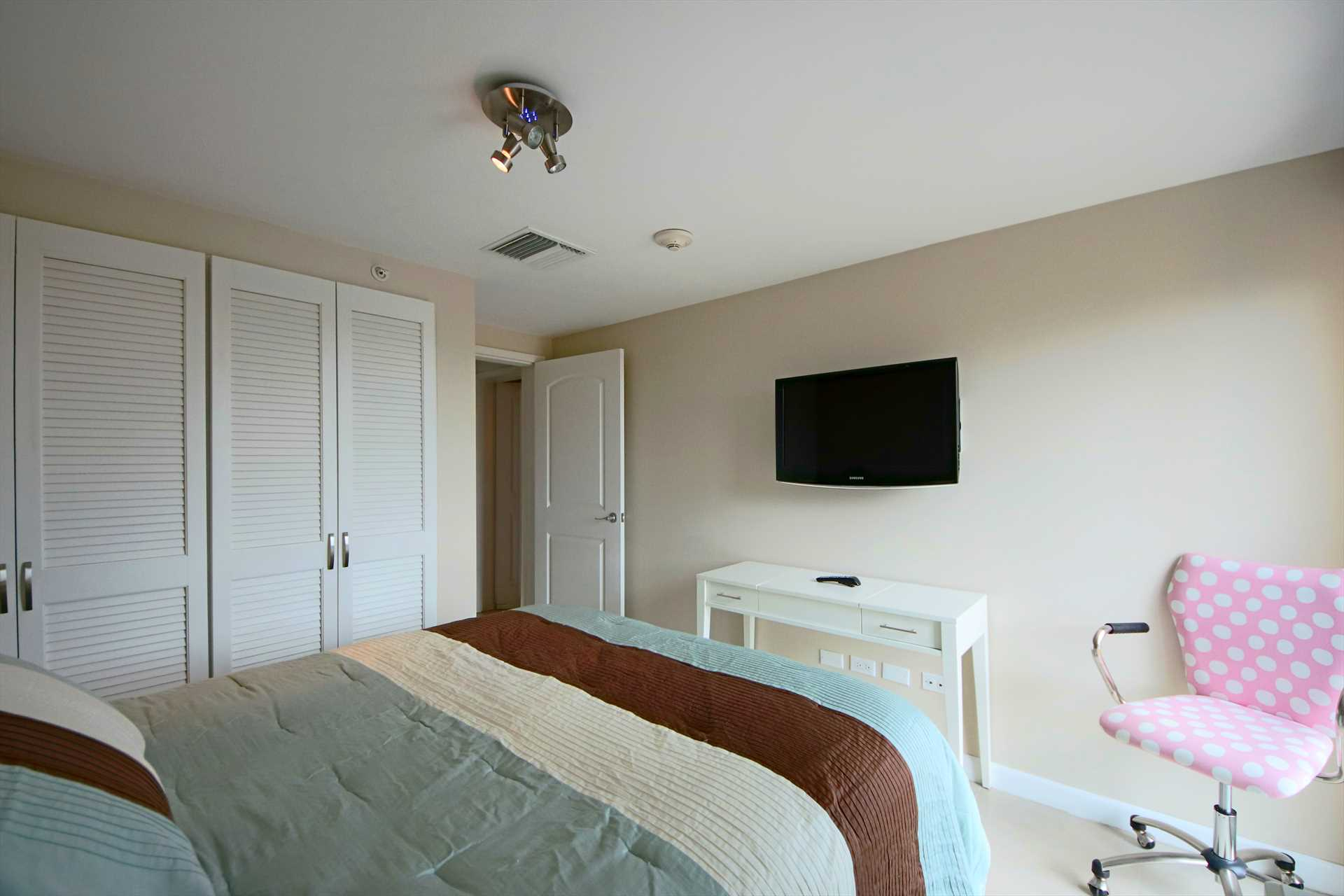 Third bedroom with TV