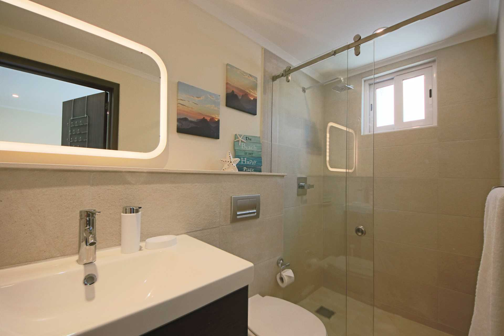 The second en-suite bathroom with a shower