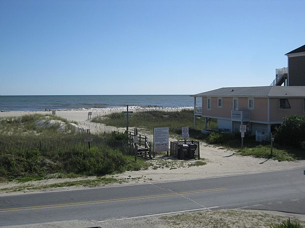 VIEW FROM DECK - GREAT BEACH ACCESS