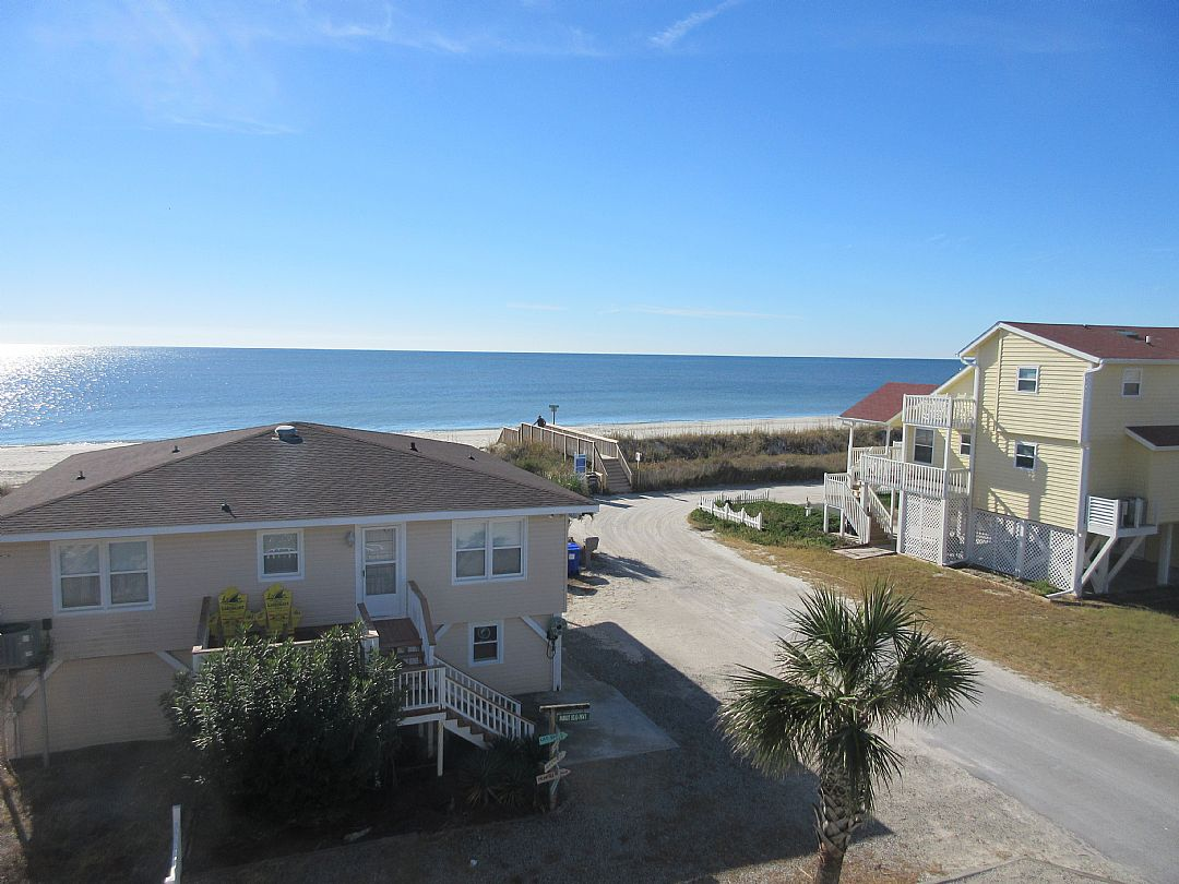 view from second level deck - BEACH ACCESS
