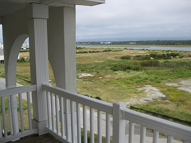View from deck Intracoastal Waterway