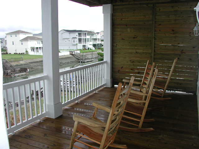 canal side deck