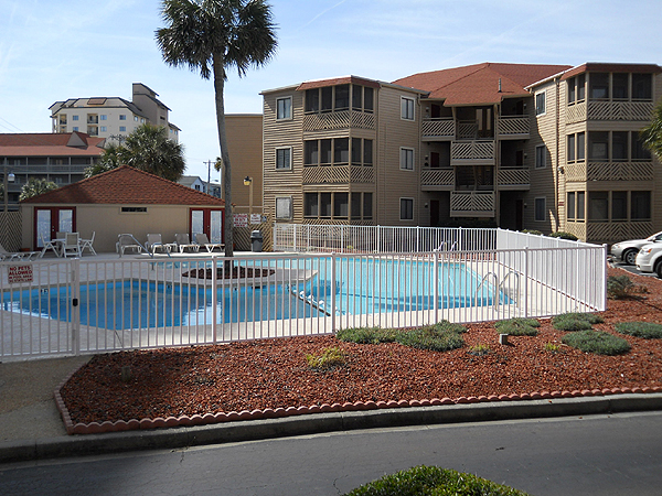 North Myrtle Beach Pool Side