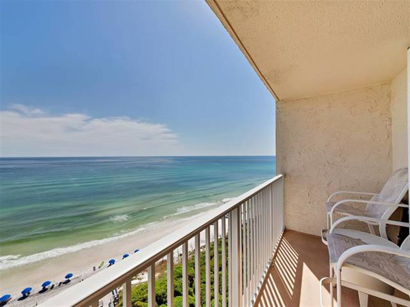Seagrove Beach 2 bedroom oceanfront vacation rental with gulf views