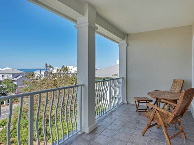 Villas At Seagrove C401 - Balcony View  - Garret really Services  - Ocena View