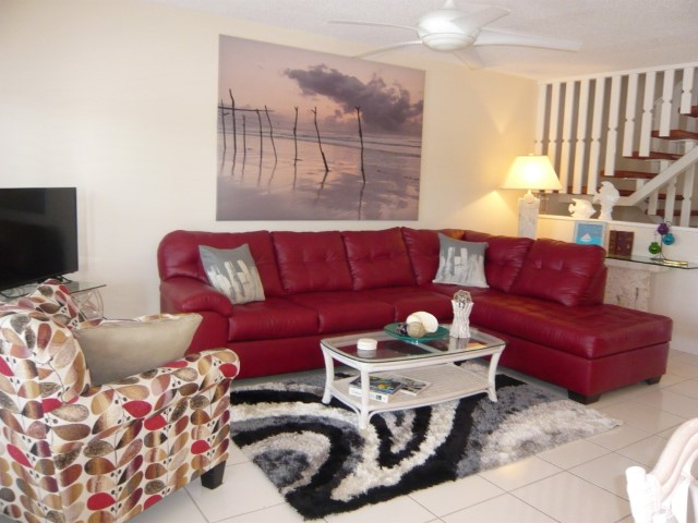Comfortable Seating in Main Living Area