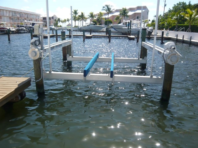 Owner Boat Lift Available for Guest Use