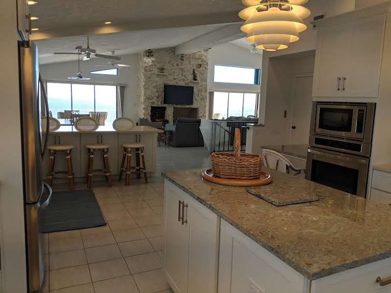 Open to Living and Dining Areas