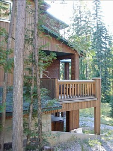 Double Balcony with Gas BBQ, private Hot Tub below