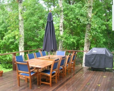 Large Deck Area