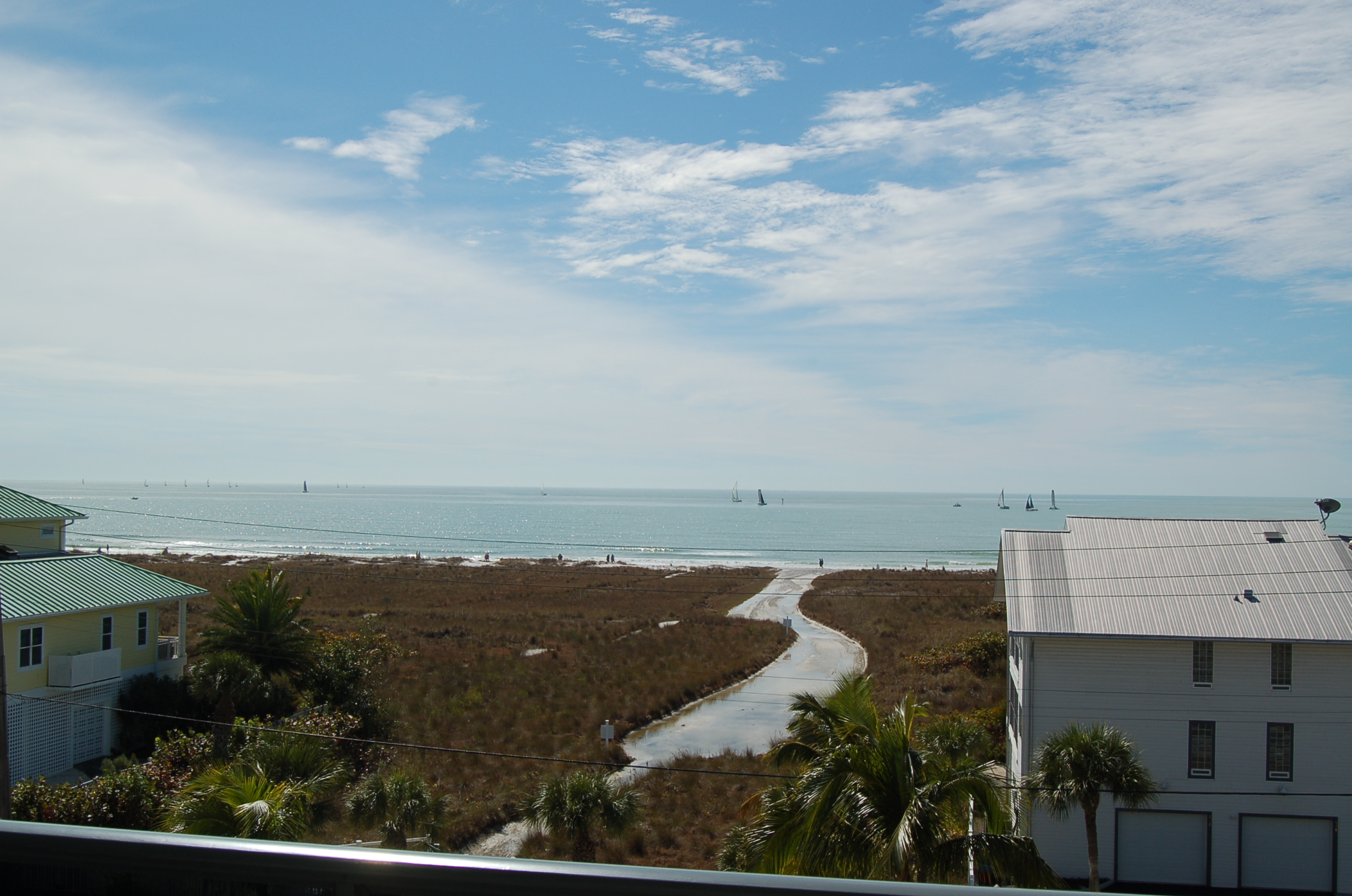 View from the lanai/balcony