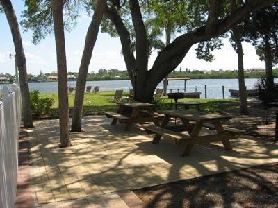 Picnic Area Overlooking the Bay