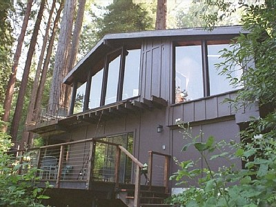 Welcome to Dragon's Lair nestled in the Redwoods