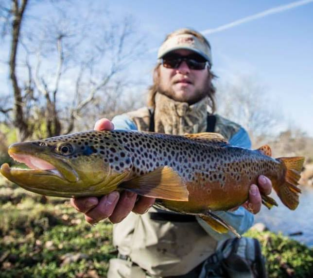Fly fishing is great in the High Country! #flyfishing