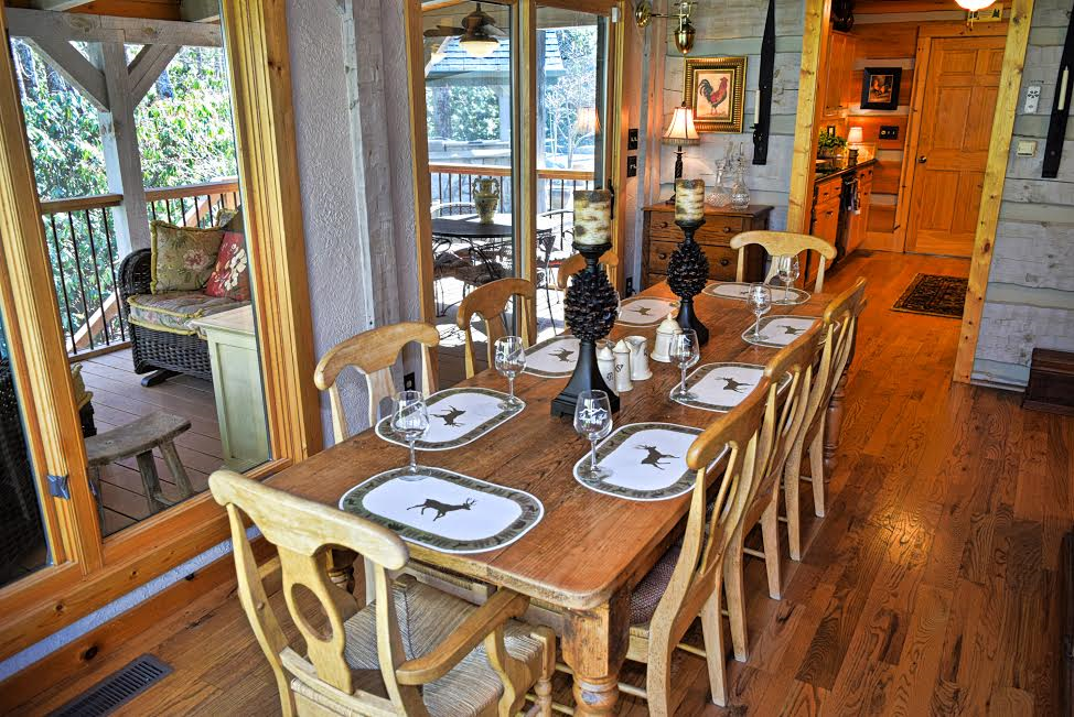 Another view of the dining room at Almost Perfect.