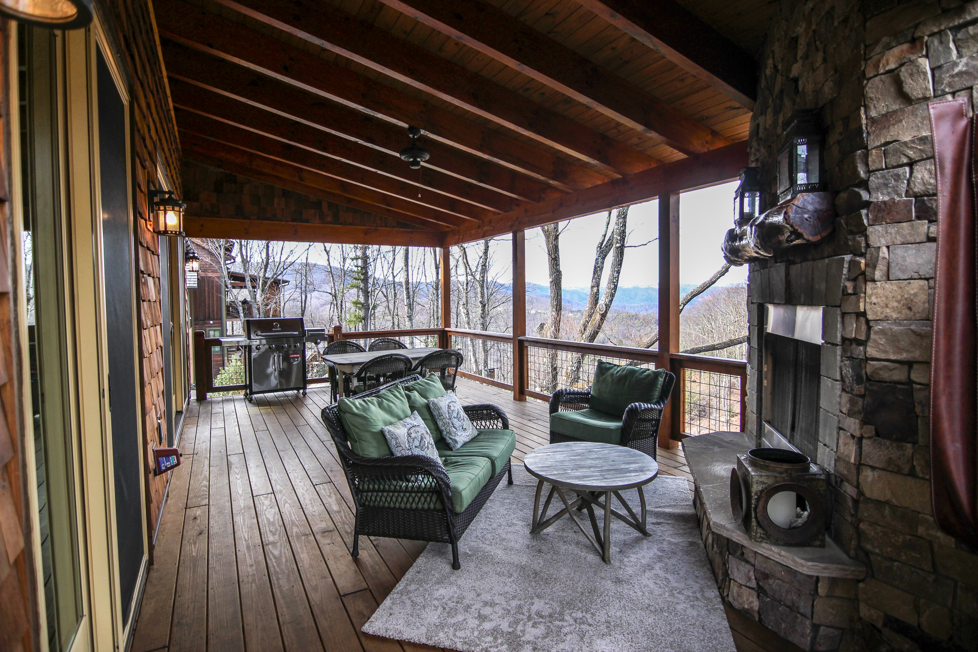 Mountain Therapy: 4 Bedroom Vacation Home Rental Boone NC ...