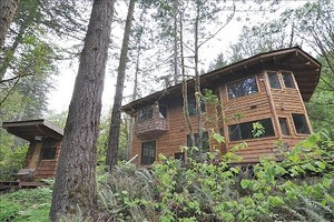 Artistically crafted sauna and home